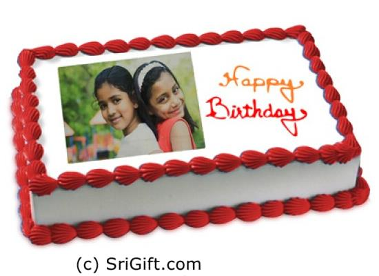 Photo Printed Cake 2 Kg | SriGift.com | Gift Kapruka In ...